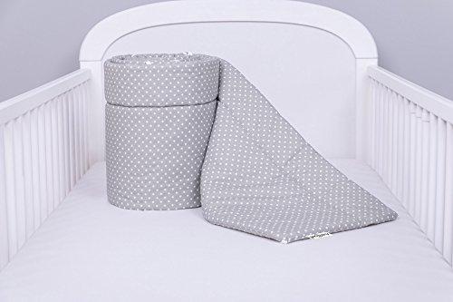 Amilian Bettumrandung Nest Kopfschutz Nestchen 420x30cm 360x30cm